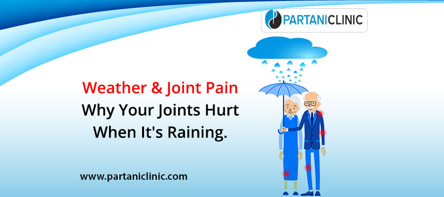 Weather and joint pain: Why your joint hurts when it's raining